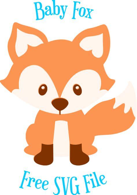 Wordmark of fox, the word fox possibly in john sans typeface. Baby Fox SVG Cut File- Freebie Friday - Abbi Kirsten ...