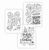 Cards Coloring Printable Greeting Pages Occasion Damasklove Every Card Colouring Diy Enjoy Stay Printables Downloads Way sketch template