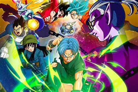 Anime Dragon Ball Dragon Ball Heroes Anime Release Date Characters