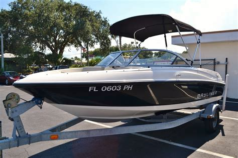 Used Boats Vero Beach by Used 2012 Bayliner 175 Br Boat For Sale In Vero Beach Fl