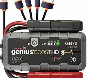 Noco Genius Boost Hd Gb70 2000 Amp 12v Ultrasafe Lithium