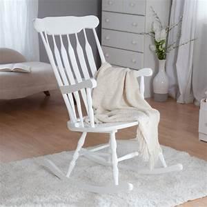 Schaukelstuhl Weiß Holz : holz schaukelstuhl f r das kinderzimmer st hle ~ Frokenaadalensverden.com Haus und Dekorationen