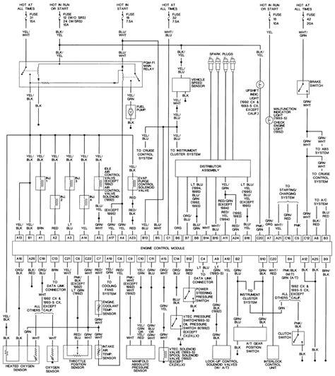 Distributor Power Honda Civic Freeautomechanic Advice