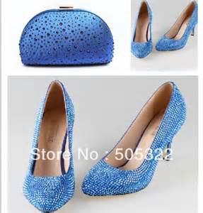 light blue wedding shoes jws469 free shipping light blue high heel wedding shoes and bags matching set in pumps