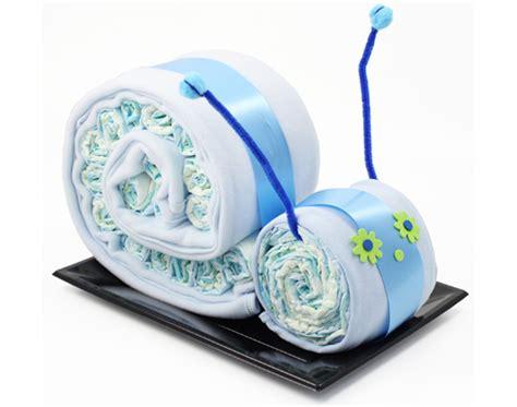 caracol de pañales regalos para nacimiento