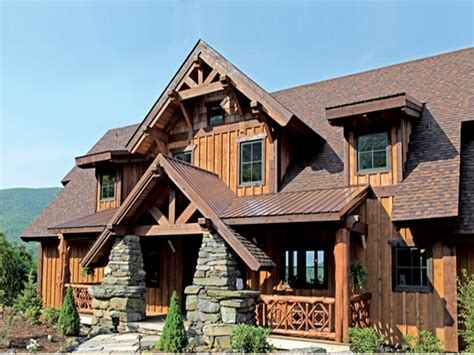 2 Story Log Home Plans Two-story Log Cabin Plans, 2 Story