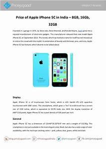 Price of Apple iPhone 5C in India – 8GB, 16Gb, 32GB