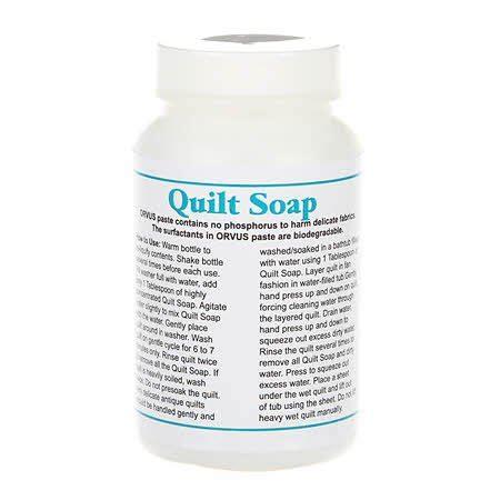 orvus quilt soap tools and accessories