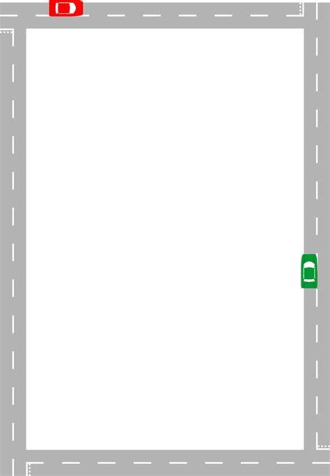 Road | Free Stock Photo | Illustration of a blank frame