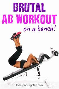 Ab Workout On Bench  U2013 Best Bench Exercises For Your Abs