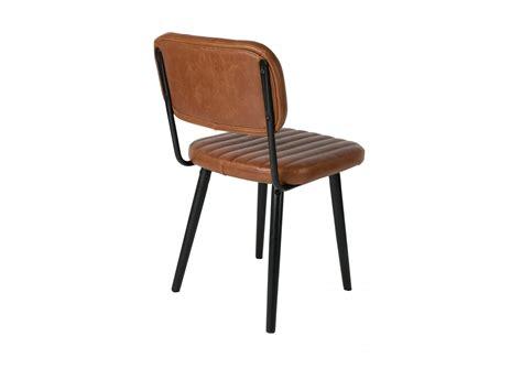 chaises retro chaise rétro industrielle jake