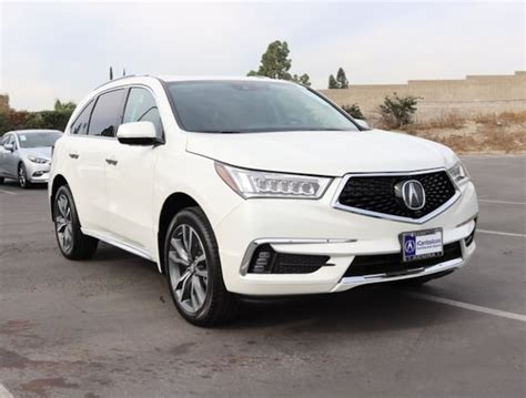 new 2019 acura mdx with advance package suv for sale lease
