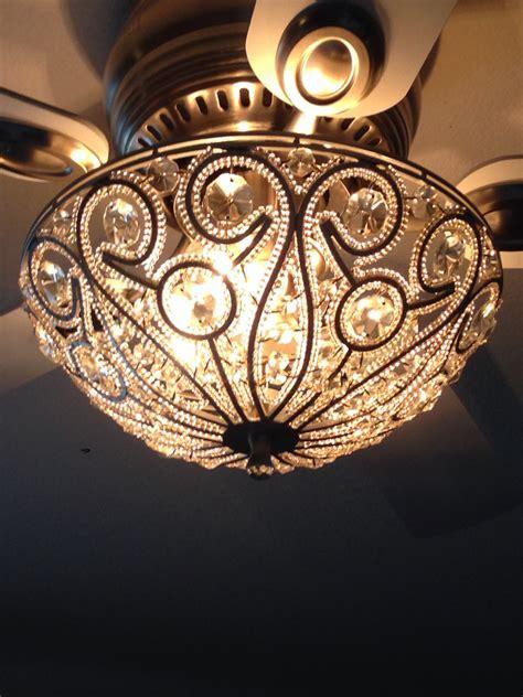 Chandelier: Beautiful Ceiling Fan With Chandelier For