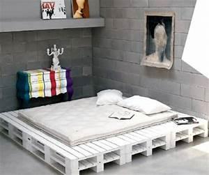 Wie Groß Ist Ein Queensize Bett : bett aus paletten 32 coole designs ~ Bigdaddyawards.com Haus und Dekorationen
