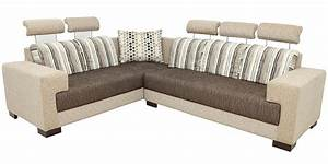 buy pacific corner sectional sofa in designer fabric With buy sectional sofa online india