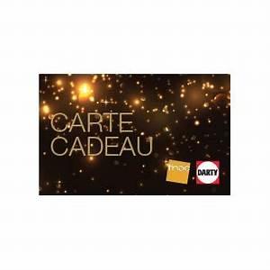 Carte Fidélité Darty : e carte cadeau fnac darty noire top prix fnac ~ Melissatoandfro.com Idées de Décoration