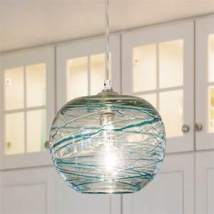 Swirling, Glass, Globe, Mini, Pendant, Light