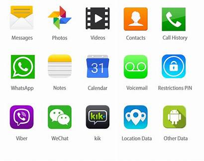 Phone Text Apps Android Spy Messages Logos