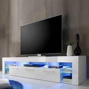Tv Lowboard Led : mit einem tv lowboard das wohnzimmer einrichten ~ Indierocktalk.com Haus und Dekorationen