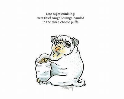 Pug Funny Poem Dog Thief Treat Poetry