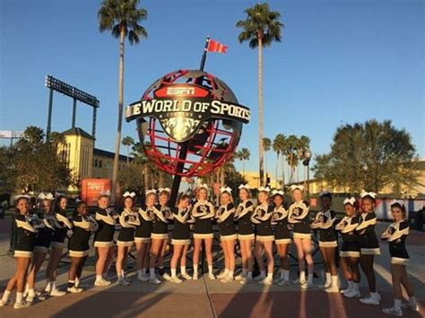 mvms cheer places national cheer competition mt vernon