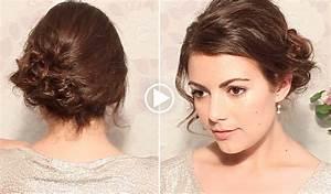 Chignon Cheveux Mi Long : elegant coiffure facile a faire cheveux court hairstyle ~ Melissatoandfro.com Idées de Décoration
