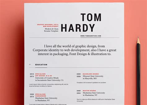 Design Resume Template by Free And Beautifully Designed Resume Templates Designmodo