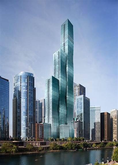 Future Tallest Building Ground Third Chicago Skyrisecities