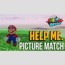 Super Mario Odyssey  How To Get Picture Match A Stellar Mario Moon (80 Points) Youtube