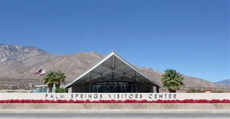 palm springs visitors center designed by albert frey picture of palm springs visitor center