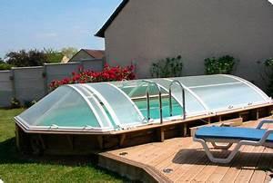 Hors Sol Pas Cher Piscine : abri piscine bois coulissant excellent abri piscine ~ Melissatoandfro.com Idées de Décoration