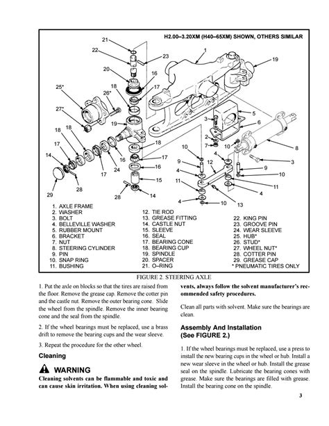 Hyster A216 (J65XM) Forklift Service Repair Manual by