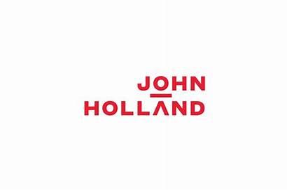 Holland John Centre Frost Unveils Itself Lettering
