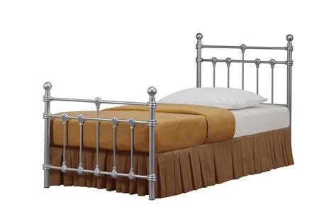 style metal beds traditional vintage style metal bed in black or ivory 3ft 4ft 4ft6 5ft sale