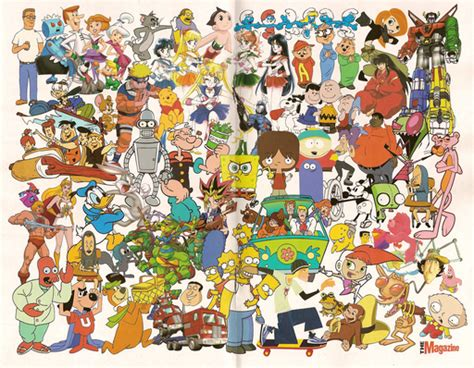 All Cartoon Characters Images