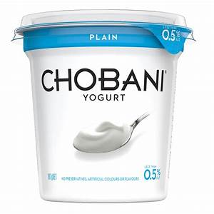 Chobani 0% Plain Greek Style Yoghurt 907g - from RedMart