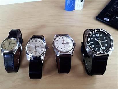 Cordovan Shell Horween Watches Rolex Strap Straps