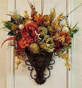 elegant, fall, sconce, , floral, wall, sconce, , thanksgiving, sconce, , bronze, wall, decor, , fall, wall
