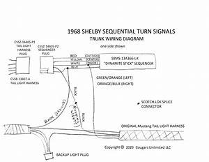 Mustang Turn Signal Flasher Wiring Diagram