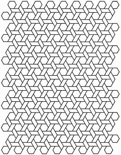Coloring Pages Geometric Cool Printable Designs Pattern