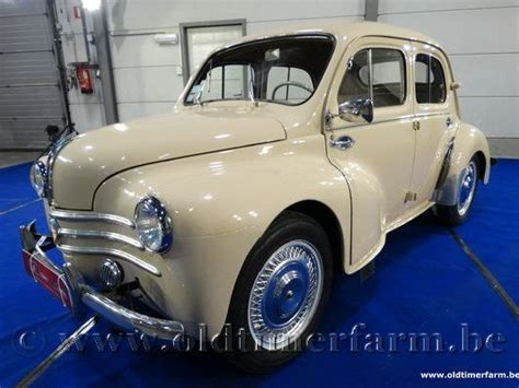 Renault 4CV Beige '58 (1958) vendue - ch. 1889