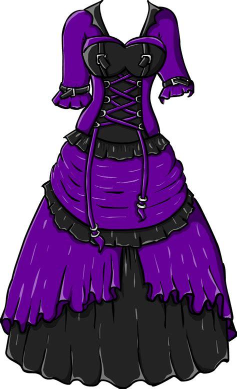 gothic dress  gullsko  deviantart