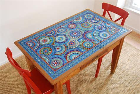mosaic table top kit mosaic ideas mosaicos inspirações search mosaic table