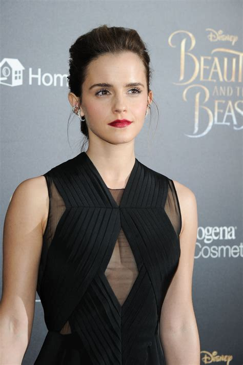 Emma Watson Beauty The Beast Screening Lincoln
