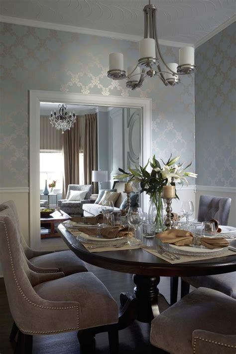 dining room wallpaper ideas  pinterest wall