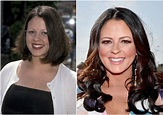 Sara Evans` height, weight. She walks with her dog to stay ...