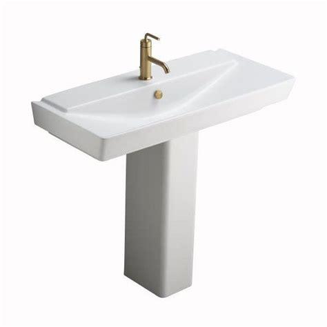 Kohler Reve Undermount Sink by Kohler Reve Semipedestal Pedestal Sink Bathroom Sinks