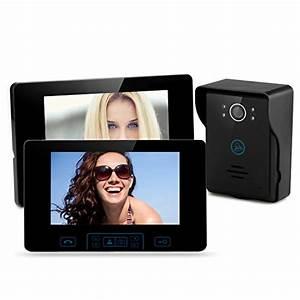 Visiophone Sans Fil Castorama : interphone vid o sans fil portier vid o sans fil tec850 wifi ~ Dailycaller-alerts.com Idées de Décoration