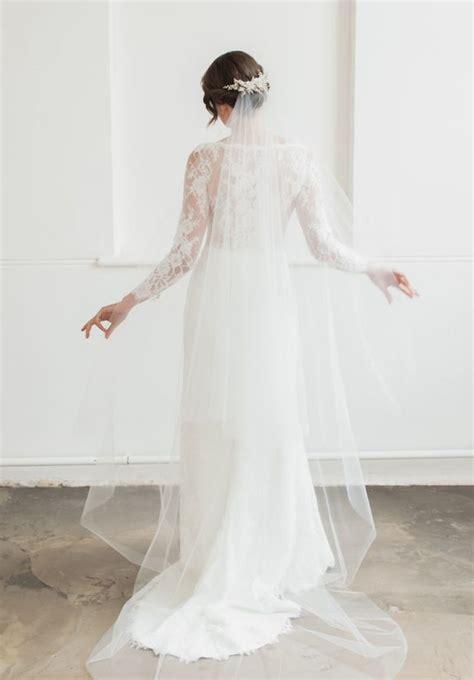 Rosella Chapel Veil With Blusher Tania Maras Bespoke