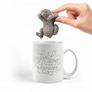 Mug Thé Infuseur : sloth tea infuser the coolector ~ Teatrodelosmanantiales.com Idées de Décoration